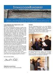 Frühjahr 2010 (pdf 527 KB) - Synagoge Memmelsdorf