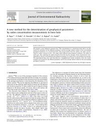 A new method for the determination of geophysical parameters by ...