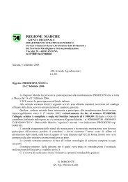 Prodexpo - Regione Marche