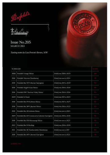 Issue No.205 - Treasury Wine Estates