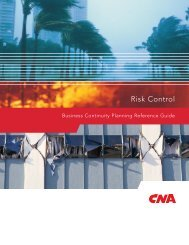 Business Continuity Planning Guide - CNA