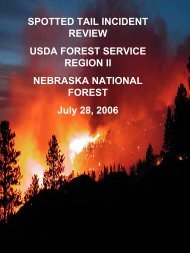 Spotted Trail Peer Review - Wildland Fire