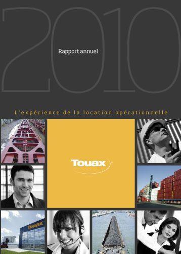Rapport annuel 2010 (PDF non interactif) - touax group