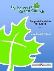 Rapport d'activités 2010-2011