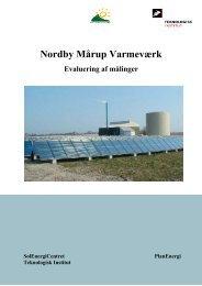 Nordby Mårup Varmeværk - Evaluering af målinger