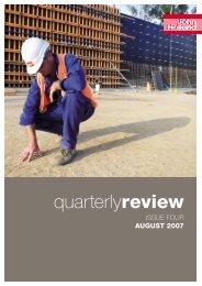 John Holland Quarterly Review, Issue Four, 2007