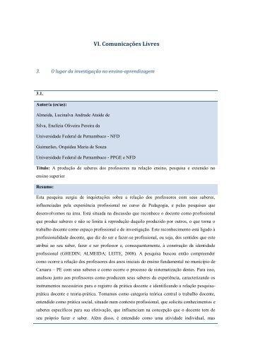 Resumos Tema 3 - Faculdade de Psicologia e de Ciências da ...