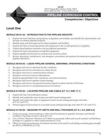 C-Pipeline Corrosion Control.pdf - NCCER