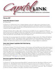 Capitol Link ~ February 2008 (pdf) - Professional Dairy Producers of ...