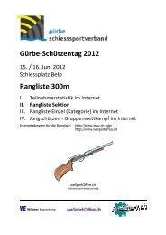 16.06.2012 - Gürbe Schiesssportverband (GSSV)