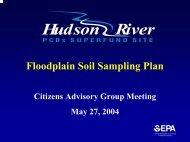 Floodplain Soil Sampling Plan - Hudson River - Community ...