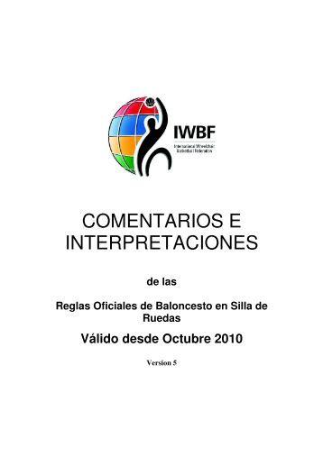 Comentarios e Interpretaciones Reglas Oficiales Baloncesto SR ...