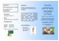 Flyer Realschulabschluss 12 - VHS - Landkreis Kelheim
