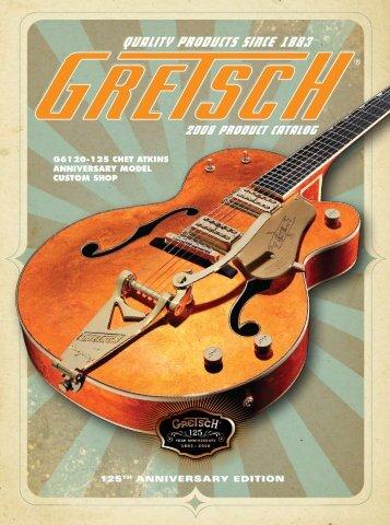 2008 Gretsch catalog