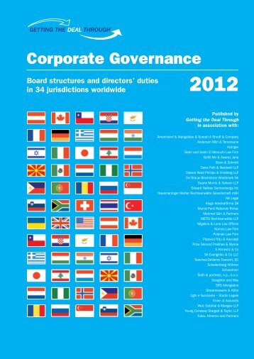 Corporate Governance - Weil, Gotshal & Manges