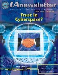 IAnewsletter Vol 5 No 2 - IAC - Defense Technical Information Center