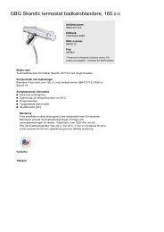 Produktblad (pdf) - Hemfint.se