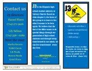 Contact us - Calvary Church