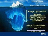 Riesgo Operacional: Algunas consideraciones críticas - RiskLab