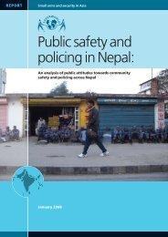 policing in Nepal - Saferworld