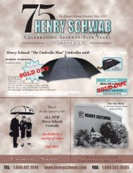 Check Out This Week's Special! - Henry Schwab Company