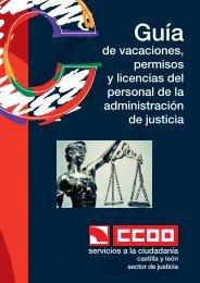 Guía de Permisos y Licencias de la Administración de Justicia