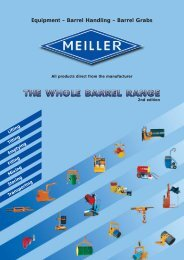 THE WHOLE BARREL RANGE - Meiller GmbH & Co. KG
