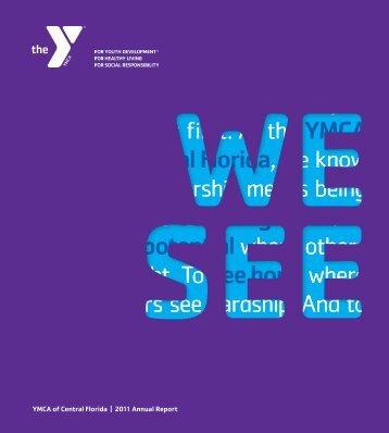 2011 AnnuAl report - YMCA