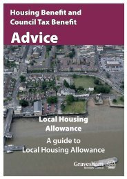 Housing Benefit and A guide to Local Housing Allowance Council ...
