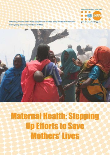 Maternal Health: Stepping Up Efforts to Save Mothers' Lives