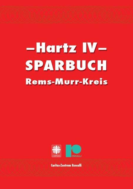 Hartz-IV-Sparbuch