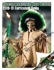 2009-10 School Yr. - Choctawhatchee High School