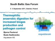 Thermophilic anaerobic digestion