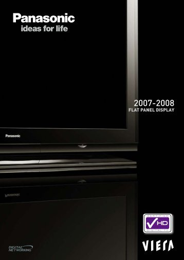 SPECIFICATIONS HD PLASMA - The Roneberg's of Cairns Home ...