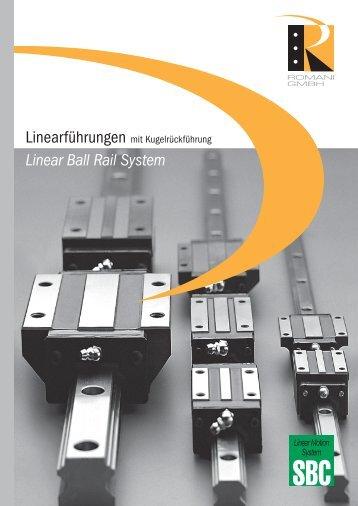 Linear Rail System SBI… - Romani GmbH