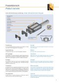 Linear Rail System SBI… - Romani GmbH - Page 5