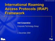 IRAP - MIT - Communications Futures Program
