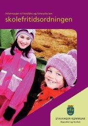 SFO-folder, Stavanger kommune - Linksidene