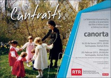 canorta - Radiotelevisiun Svizra Rumantscha