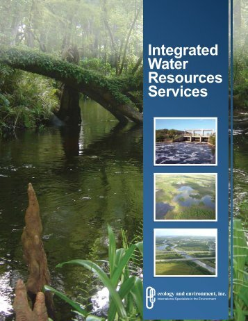 Integrated Water Resources Services - Ecology & Environment