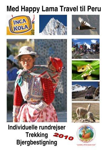 Med Happy Lama Travel til Peru