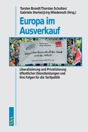 Europa im Ausverkauf - VSA Verlag