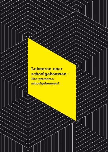 Luisteren naar schoolgebouwen - - BBA Binnenmilieu