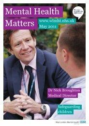 Mental Health - West London Mental Health NHS Trust