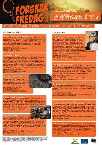 Se hela programmet (pdf, nytt fönster) - Skellefteå kommun