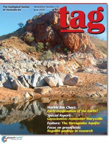 Marble Bar Chert - Geological Society of Australia