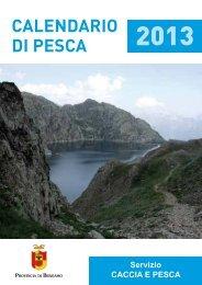 Calendario pesca.pdf - Provincia di Bergamo