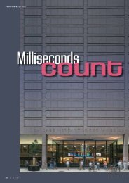 Feature story: Milliseconds count at CME Group - HP NonStop