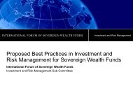 Proposed Best Practices in Investment and Risk Management for ...