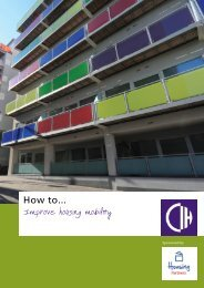 How to... improve housing mobility - Chartered Institute of Housing